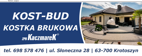 Kostka brukowa Ostrów Wielkopolski