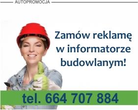 Reklama w Informatorze Budowlanym w Gazecie Internetowej iOstrowWlkp.pl