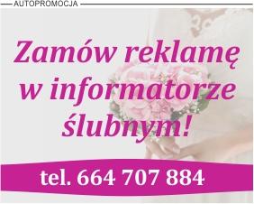 Reklama w Informatorze Ślubnym w Gazecie Internetowej iOstrowWlkp.pl